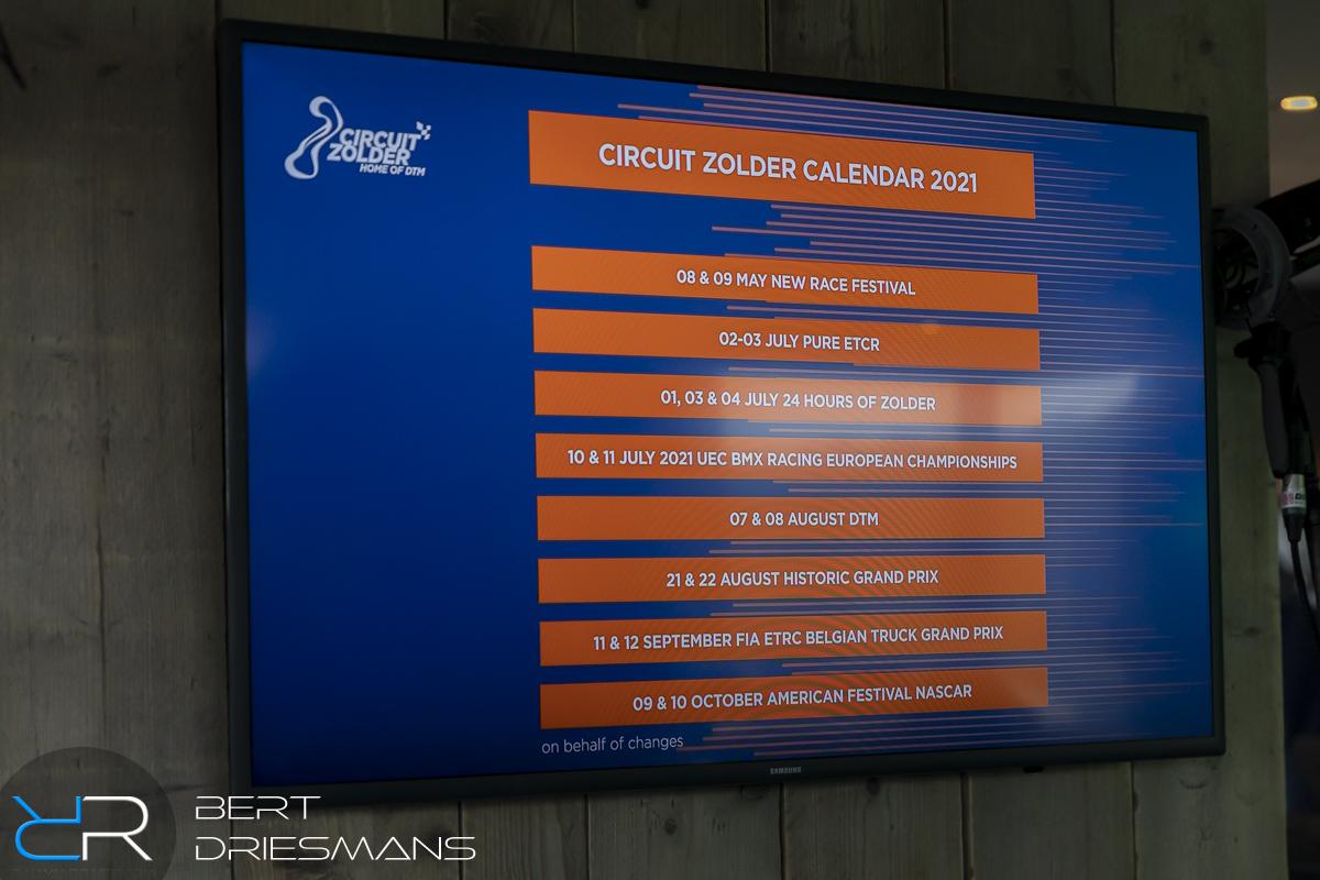 PC Circuit Zolder - Kalender