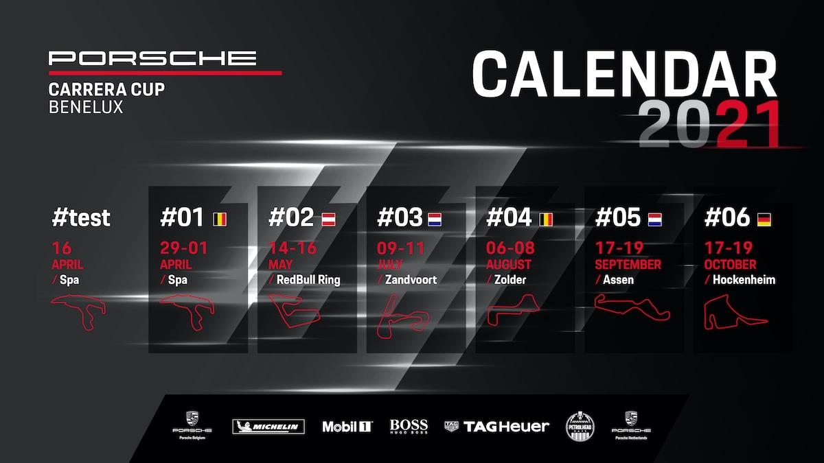 Porsche Carrera Cup Benelux, Porsche