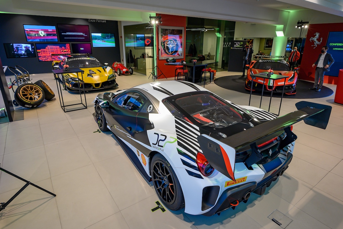 DP2, Ferrari Challenge Europe, Francorchamps Motors Luxemburg, John Wartique, Stéphane Corremans, Ginion Group