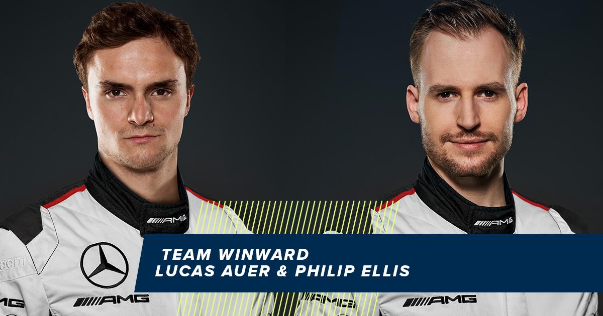 Team Winward - Lucas Auer en Philip Ellis
