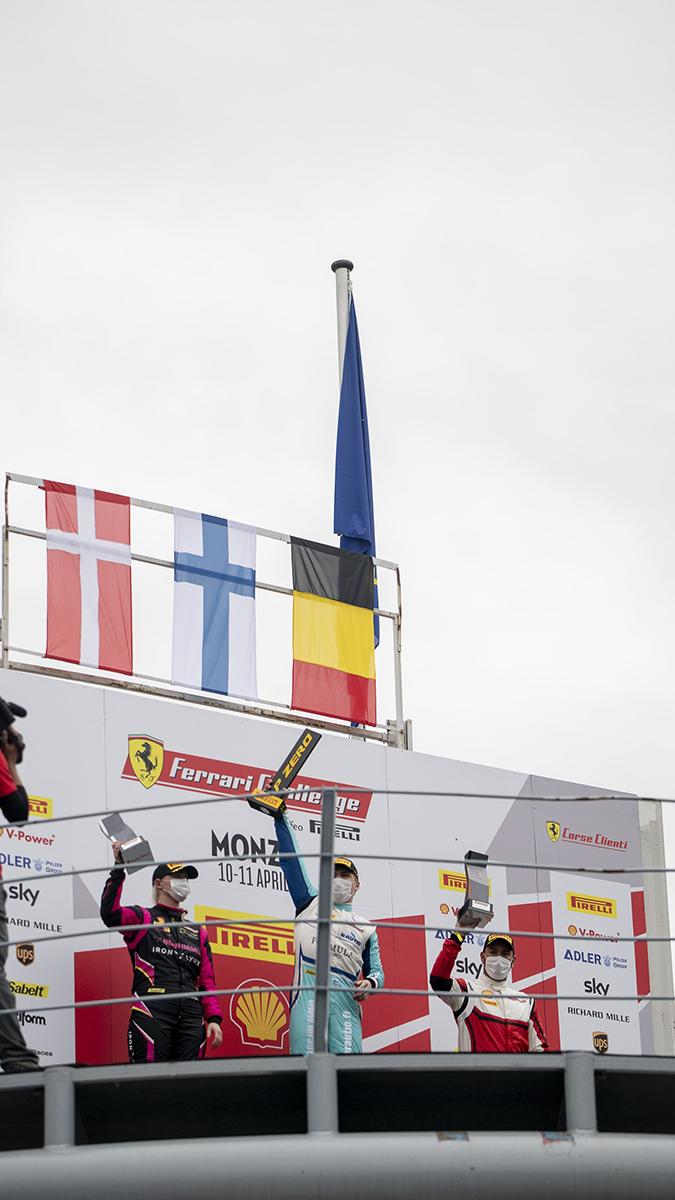 John Wartique - Ferrari 488 Challenge EVO
