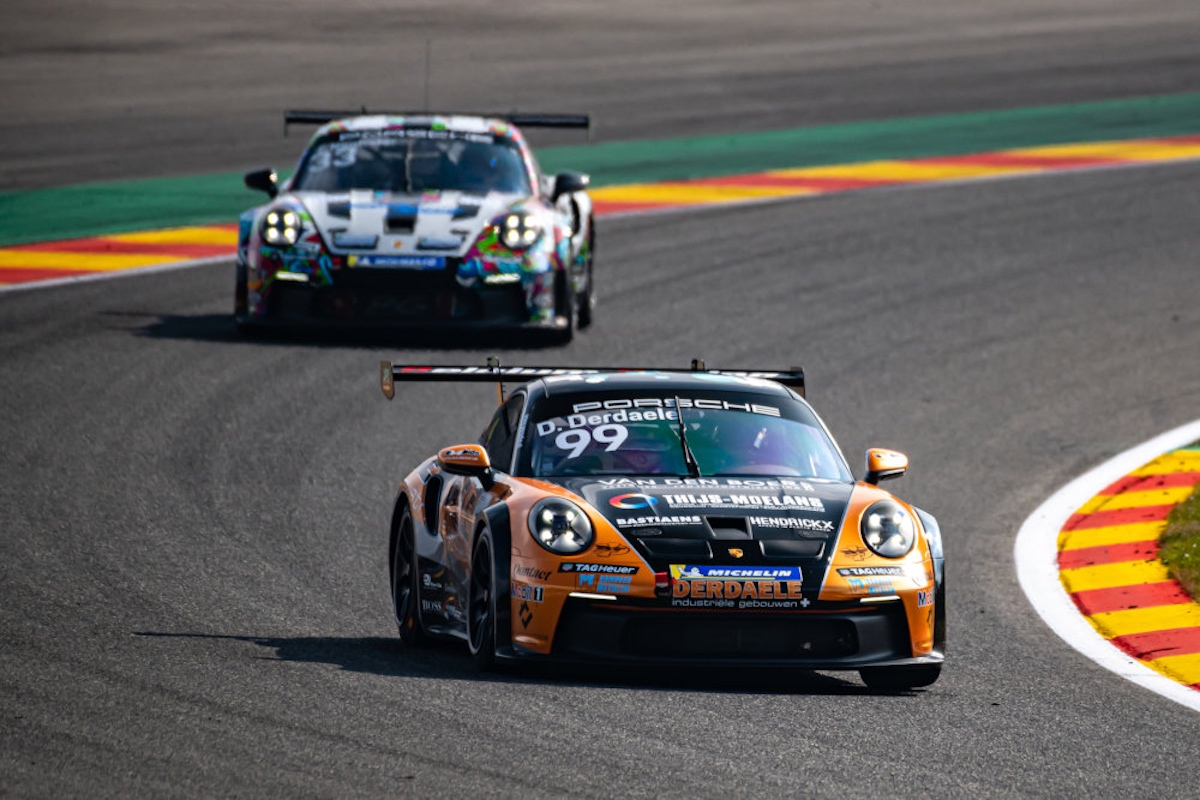 Dylan Derdaele, Porsche Carrera Cup Benelux, Spa-Francorchamps, Belgium Racing Team
