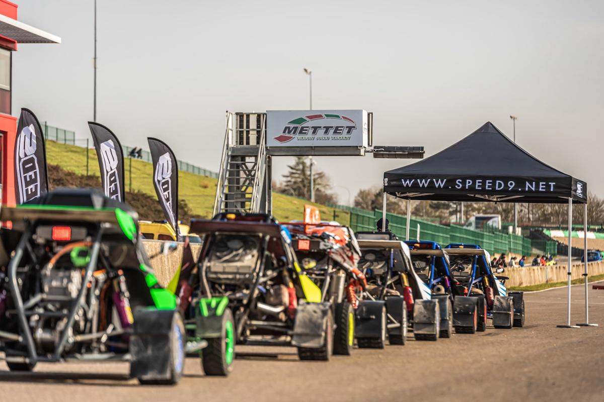 Speed9, rallycross, crosskarts, Frédérique Jonckheere