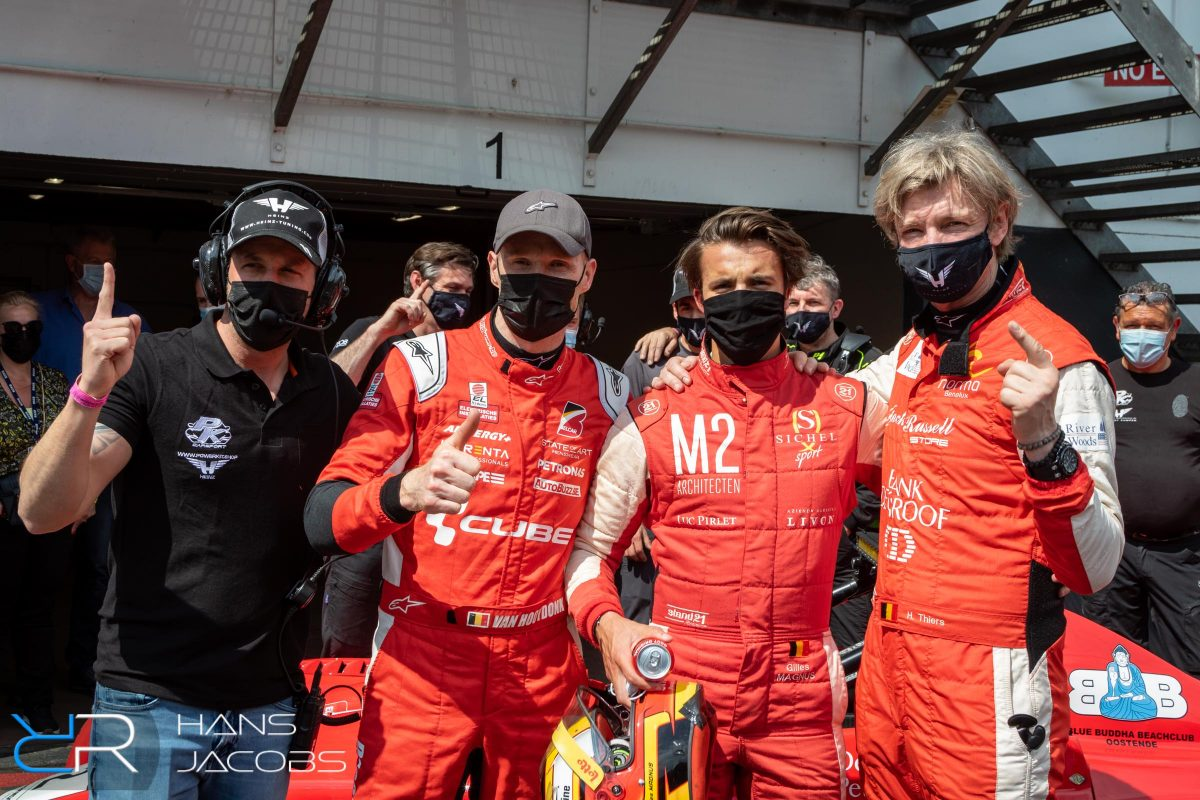 New Race Festival, Circuit Zolder, PK Carsport, Hans Thiers, Gilles Magnus, Jeffrey van Hooydonck, Anthony Kumpen