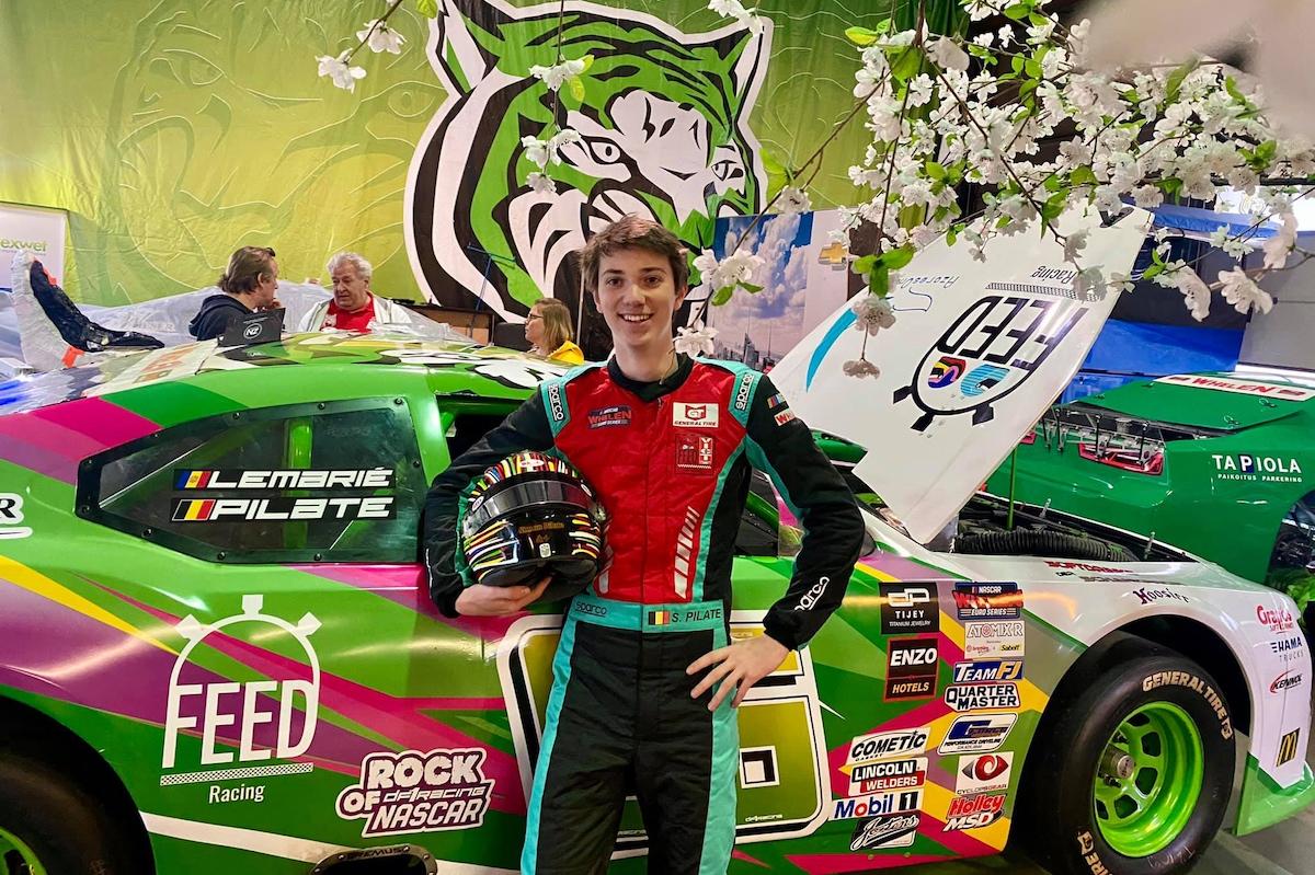 Simon Pilate, DF1 Racing, NASCAR Whelen Euro Series