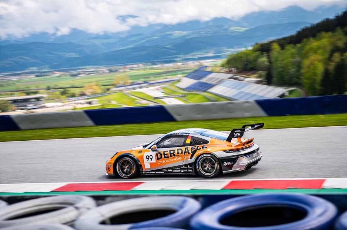 Dylan Derdaele, Red Bull Ring, Porsche Carrera Cup Benelux