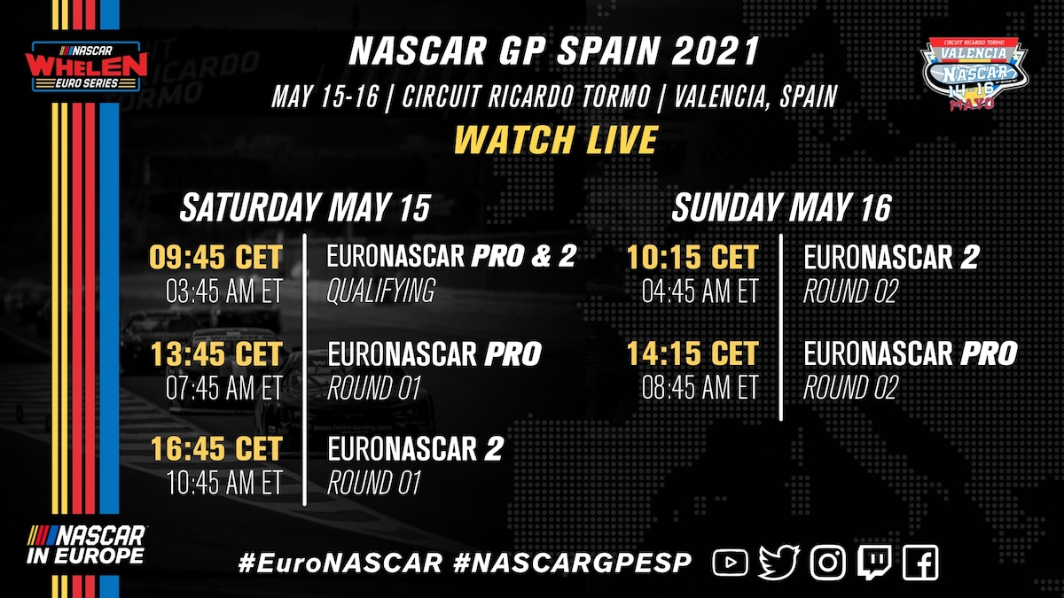 NWES, NASCAR Whelen Euro Series, Valencia, Marc Goossens