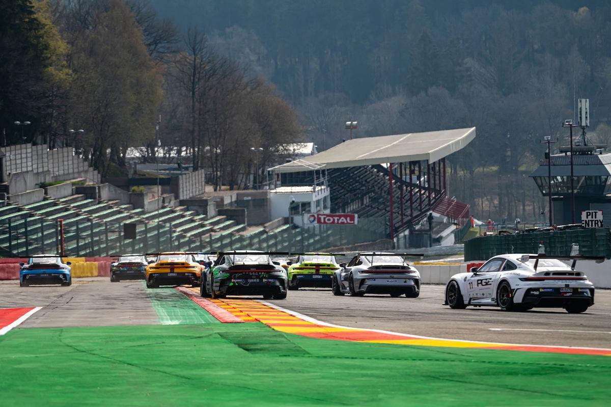 Porsche, Porsche Carrera Cup Benelux, Circuit de Spa-Francorchamps