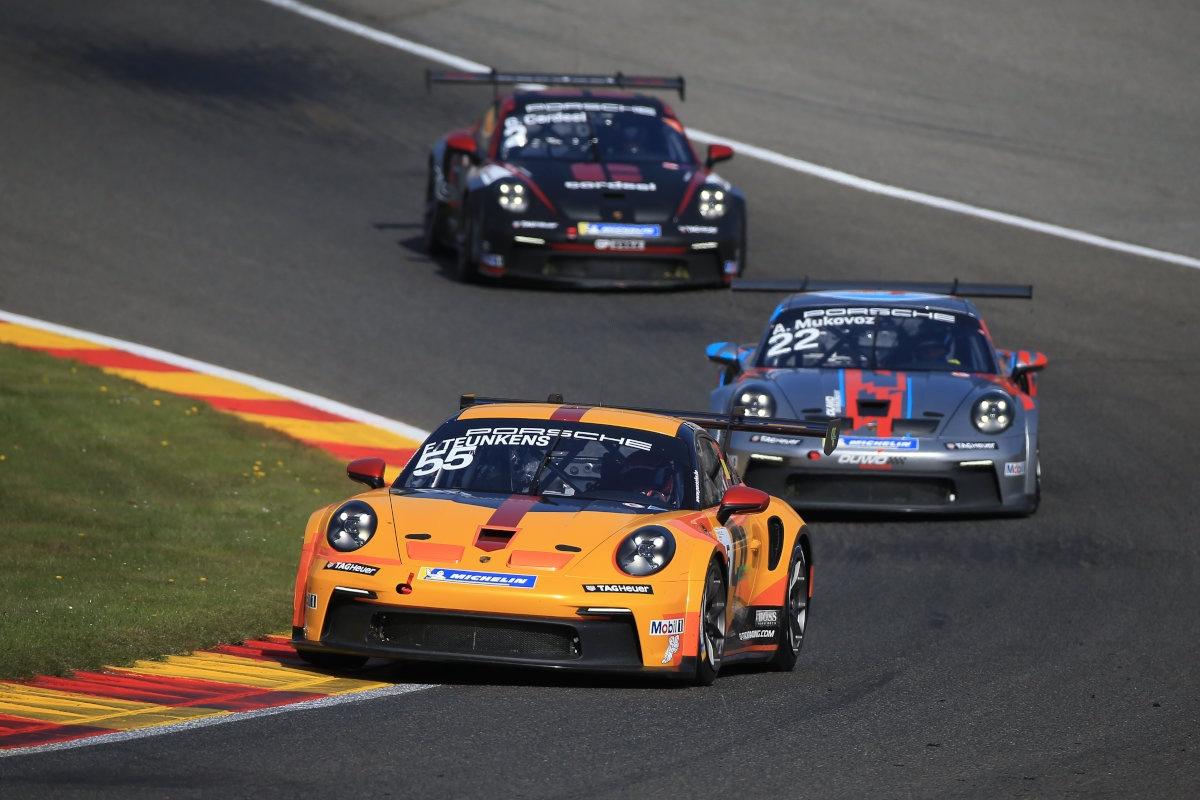 Filip Teunkens, Q1 Trackracing, Circuit de Spa-Francorchamps, Porsche Carrera Cup Benelux