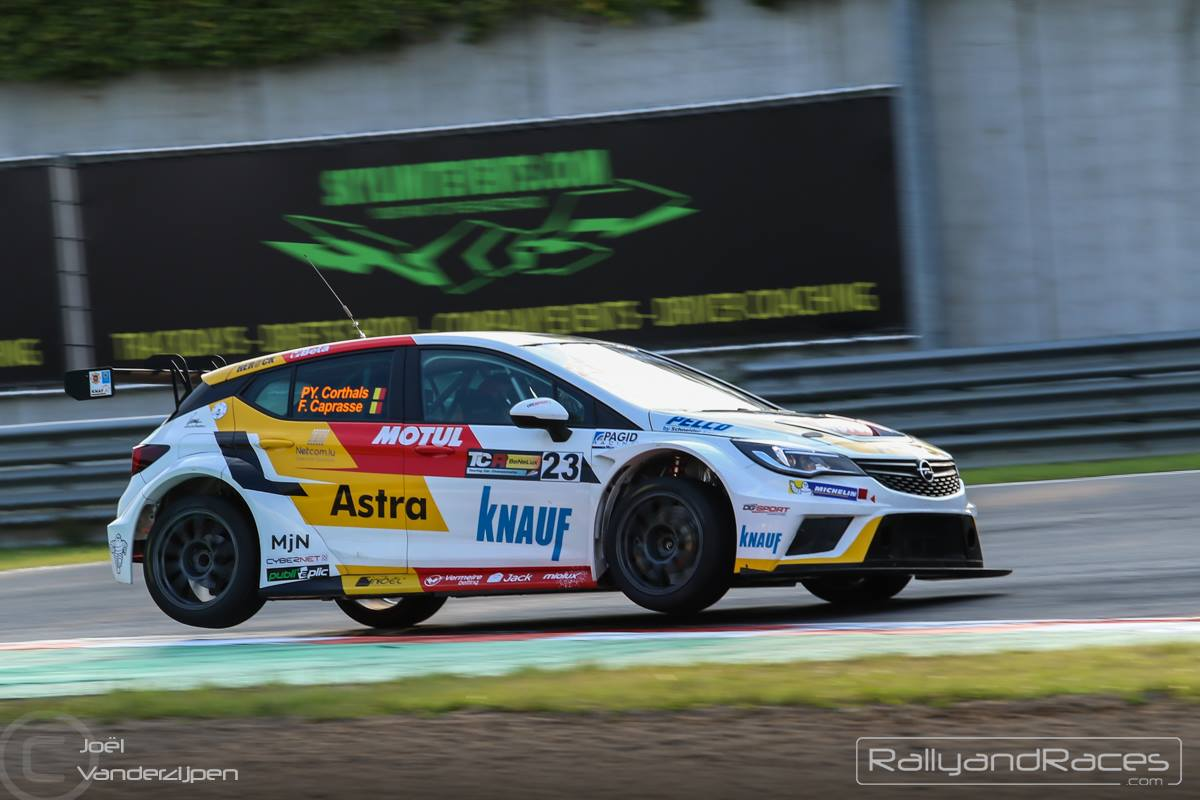Fred Caprasse, TCR, Circuit Zolder