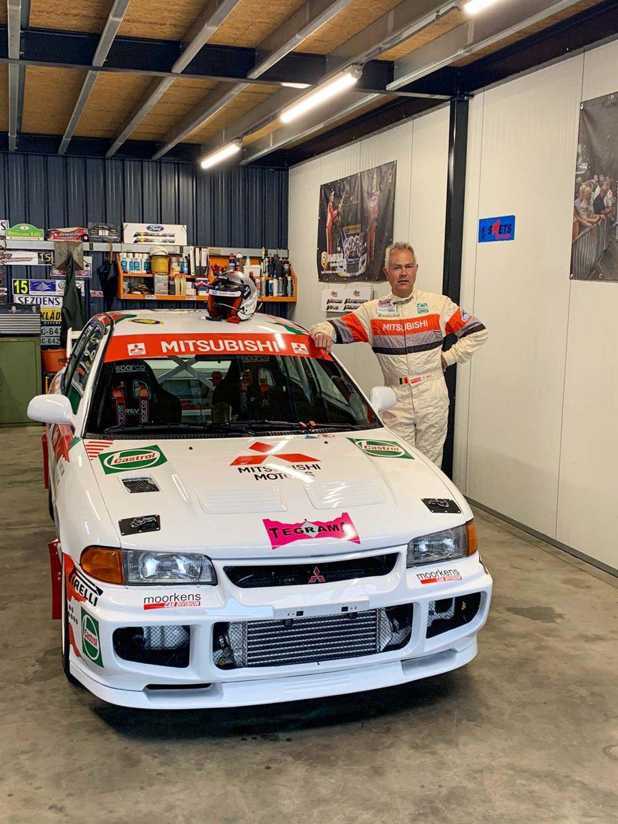 Jonas Langenakens, Kenneth Delvaux, Mitsubishi Lancer, Smets Motoren, Pascal Smets