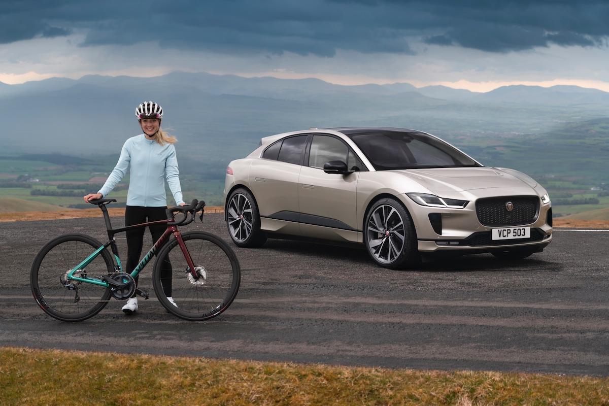 Jaguar I-PACE, Everesting Challenge, Elinor Barker