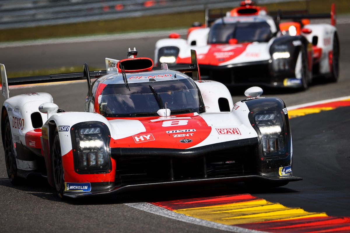 Toyota GAZOO Racing, Hypercar, Spa-Francorchamps, FIA WEC
