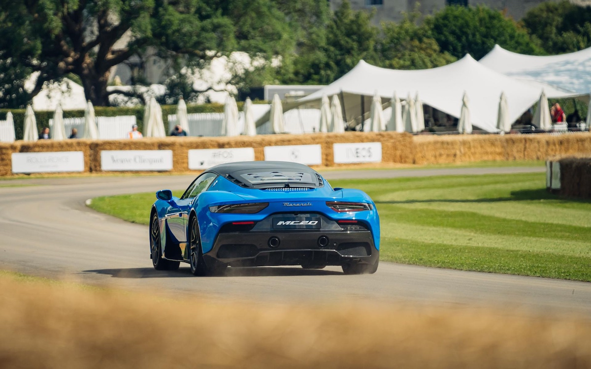 Maserati MC20, Goodwood Festival of Speed