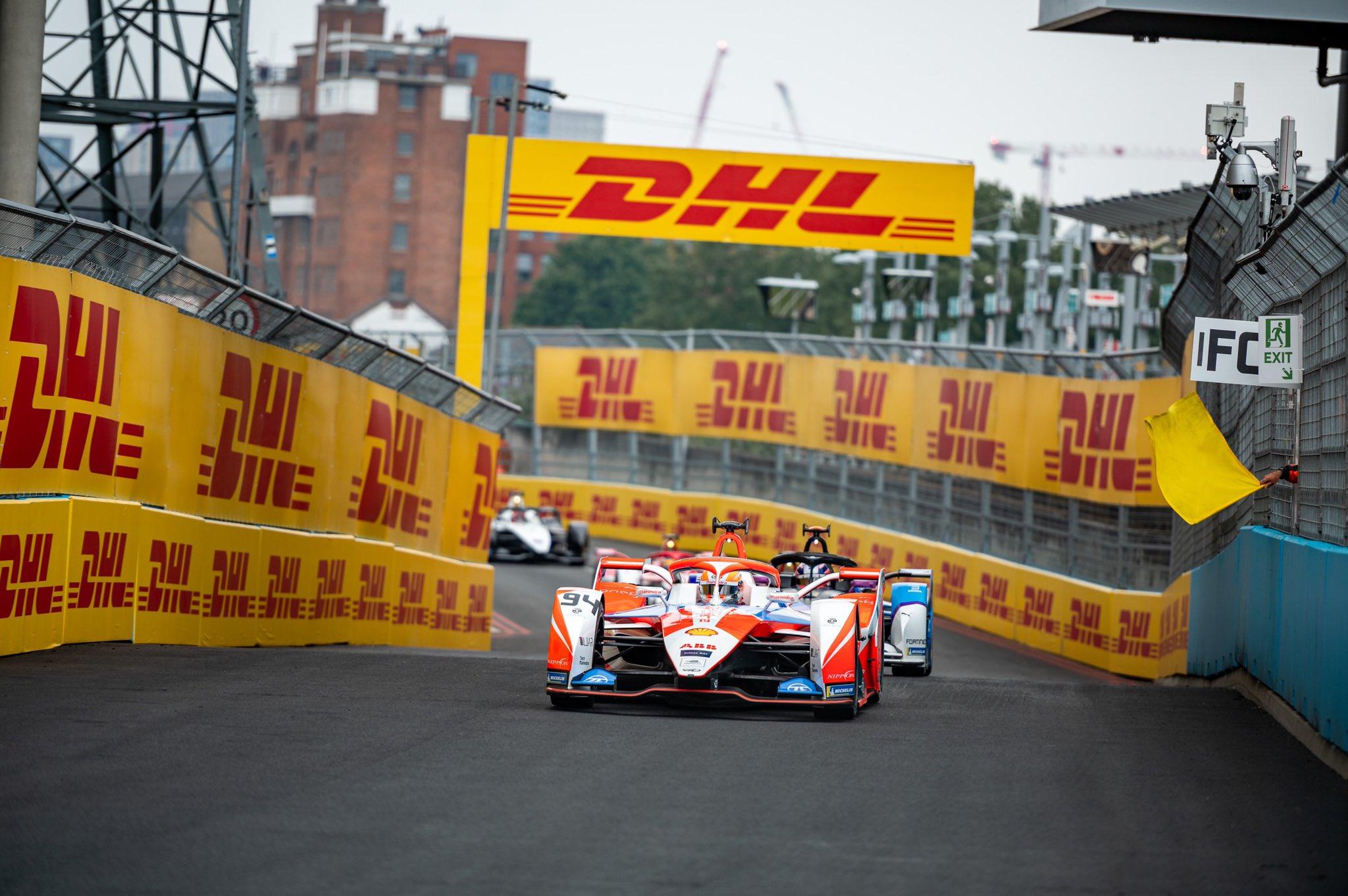 Alex Lynn - Mahindra Racing - Formule E - Londen
