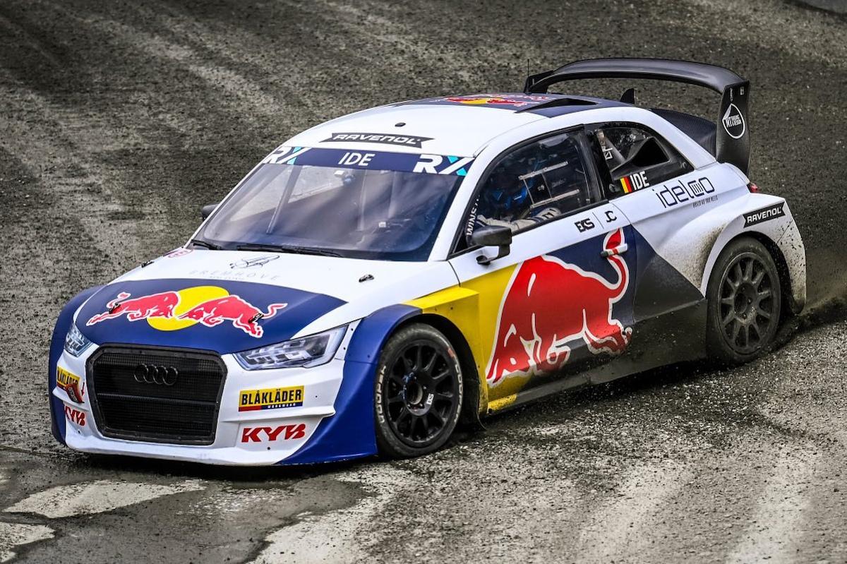 Enzo Ide, World RX, idelco, Red Bull, Blaklader, Audi S1