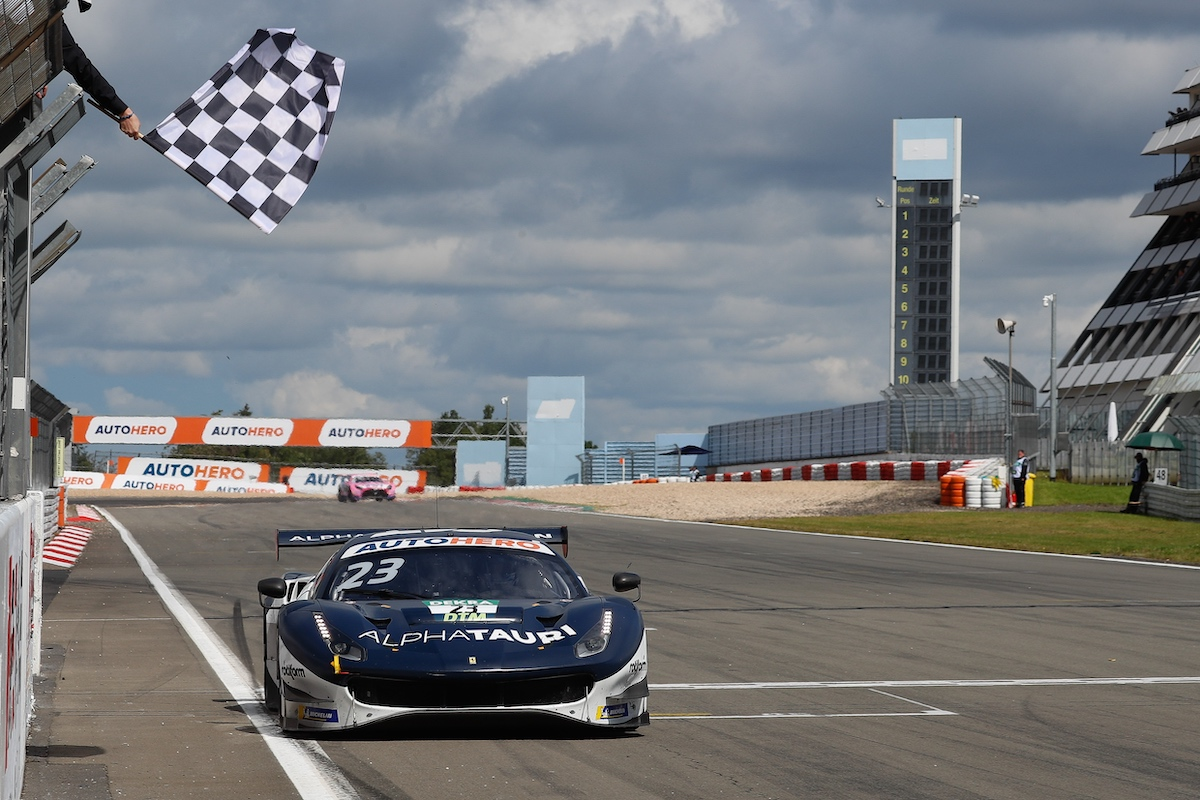 DTM, Nürburgring, Alex Albon, Ferrari