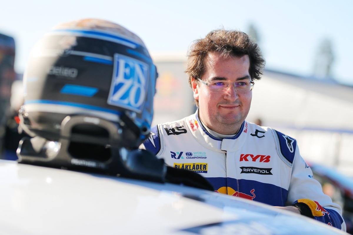 Enzo Ide, FIA RX, EKS JC, rallycross, Höljes