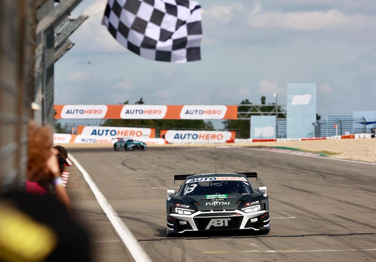 DTM, Nürburgring, Kelvin van der Linde, Audi