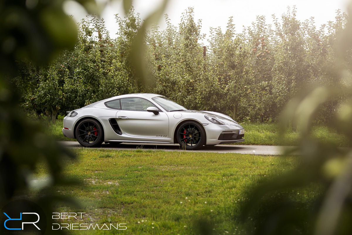 Porsche 718 Cayman GTS 4.0, Porsche Belgium