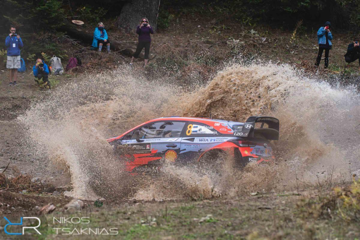 WRC Greece, Acropolis Rally, Nikos Tsaknias, Ott Tänak, Hyundai Motorsport