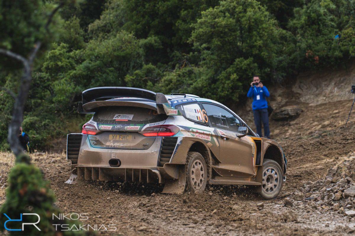 WRC Greece, Acropolis Rally, Nikos Tsaknias, Adrien Fourmaux, Renaud Jamoul