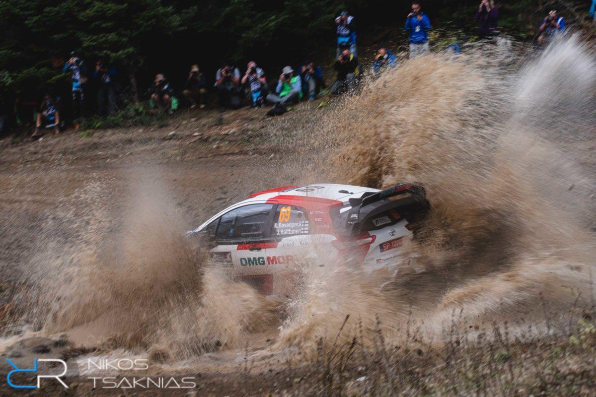 WRC Greece, Acropolis Rally, Nikos Tsaknias, Kalle Rovanpera, Toyota GAZOO Racing WRC