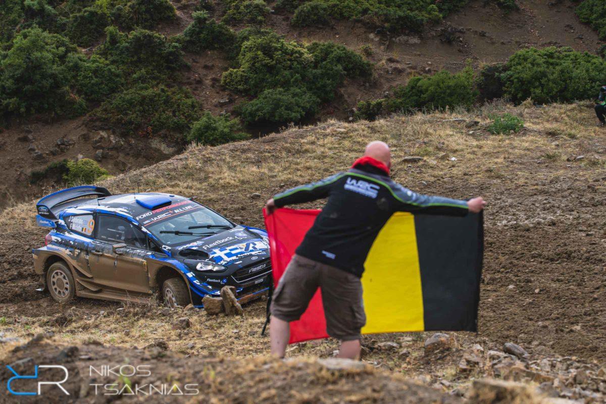WRC Greece, Acropolis Rally, Nikos Tsaknias, Vincent Verstraete, Jourdan Serderidis, Fred Miclotte