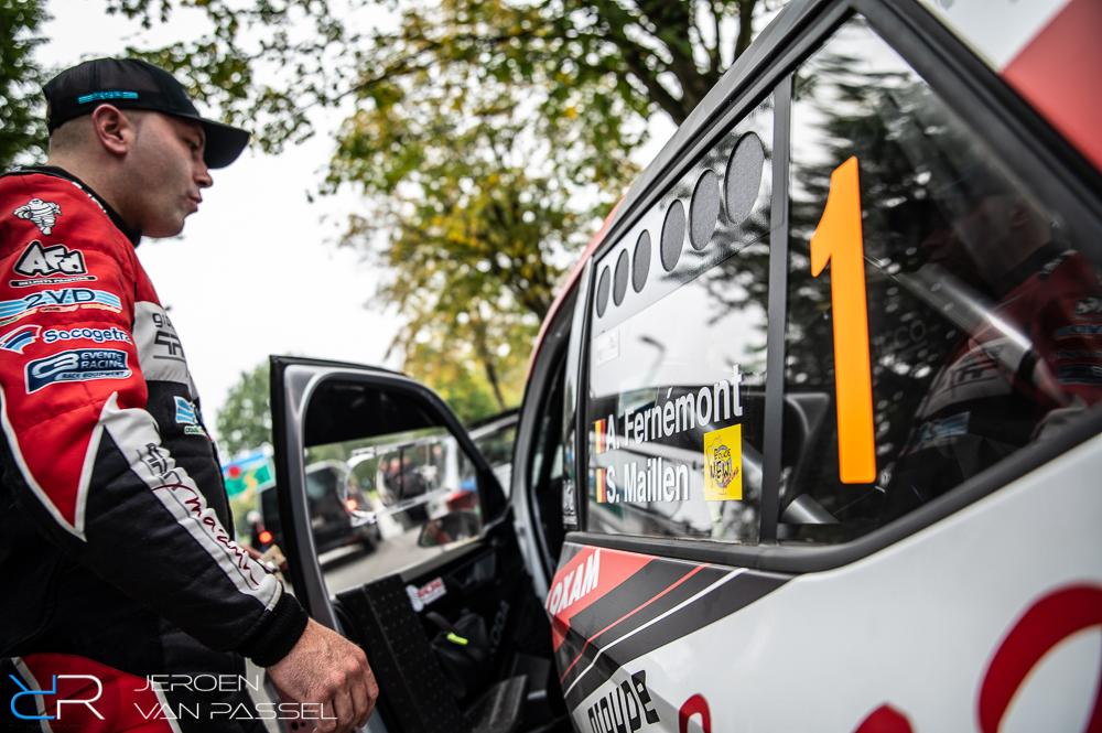 Adrian Fernémont - East Belgian Rally 2021