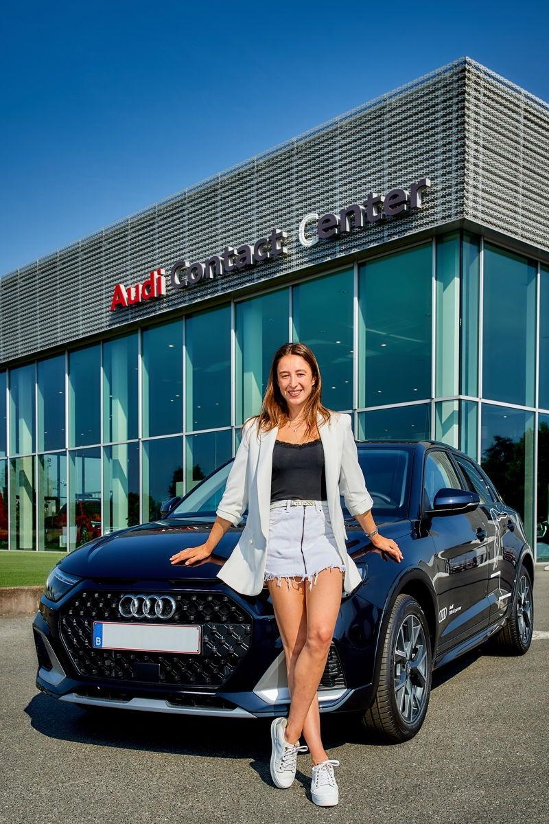 Audi, Zoute Grand Prix, Nina Derwael