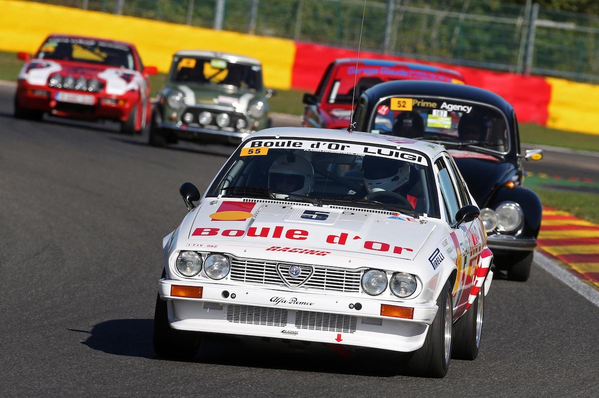 Racing Festival Spa, Circuit de Spa-Francorchamps, Alfa Romeo, Boule d'Or