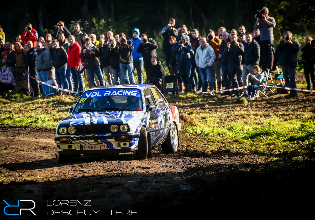 Rallye de Wallonie, Frederick Vandelook, BMW E30